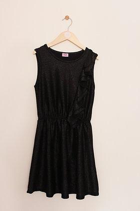 F&F black sparkly sleeveless dress (age 9-10)
