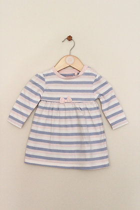 Bluezoo striped jersey dress (age 3-6 months)