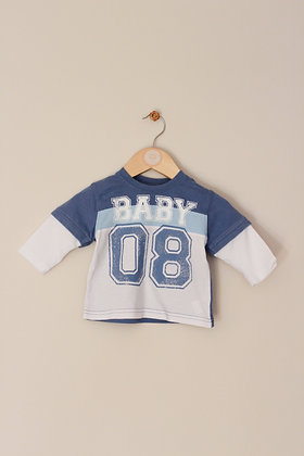 Cherokee mock layer long sleeved top (age 3-6 months)