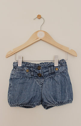 Cherokee denim shorts (age 12-18 months)