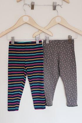 2 x Fred & Flo leggings (age 12-18 months)