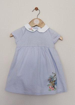 TU Peter Rabbit collared dress (age 9-12 months)