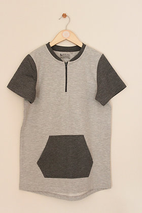 TU grey thick 2 tone t-shirt (age 12)