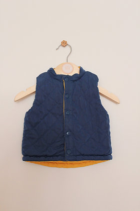 Mothercare reversible bodywarmer (age 3-6 months)