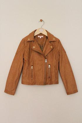 Bluezoo faux suede biker style jacket (age 8)
