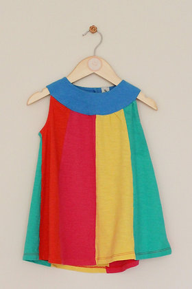 TU colour block sleeveless sundress (age 18-24 months)