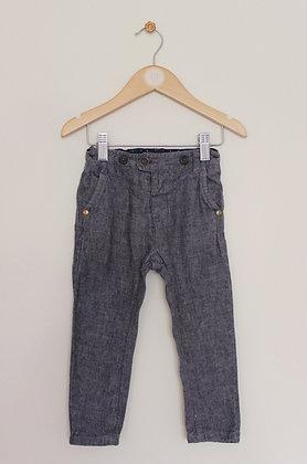 Signature Next linen blend trousers (age 12-18 months)
