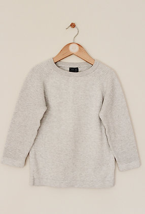 Next pale grey sweater (age 6)