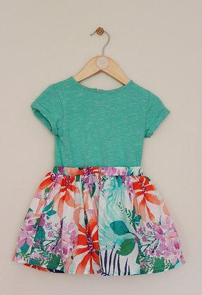 Next lined mix and match dress. (age 18-24 months)
