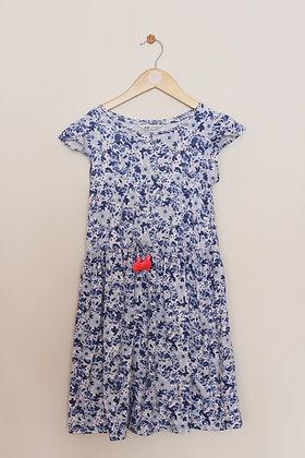 H&M blue floral summer dress (age 8-10)