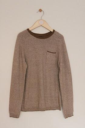 Okaidi cotton blend lightweight sweater (age 10)