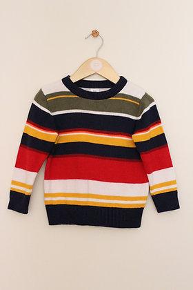 Gap cute striped cotton jumper (age 2)
