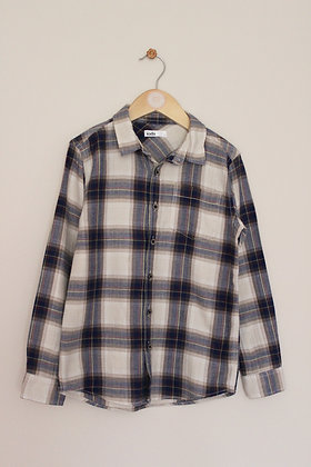 M&Co checked shirt (age 7-8)