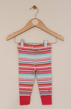 Joules striped leggings (age 0-3 months)
