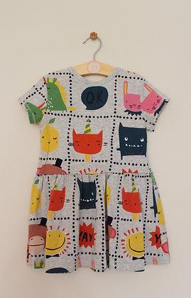 Next character print jersey dress (age 18-24 months)