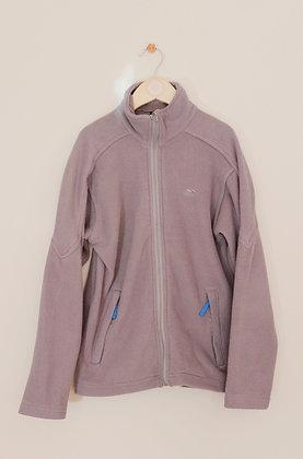 Trespass grey zip through fleece (age 9-10)