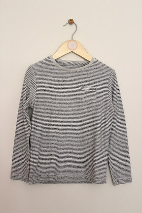 M&S long sleeved striped t-shirt (age 5-6)