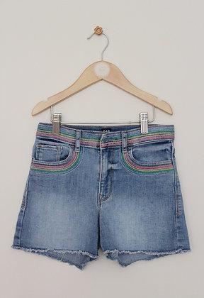 Gap stretch high waist denim shorts (age 10)