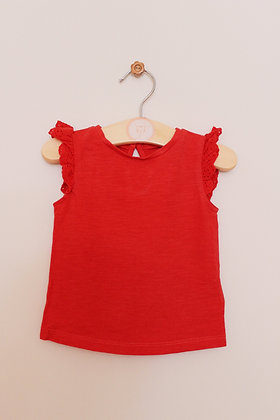 Mothercare red t-shirt (age 3-6 months)