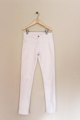 H&M white denim skinny fit jeans (age 10-11)
