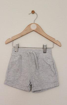 Nutmeg grey jersey shorts (age 12-18 months)