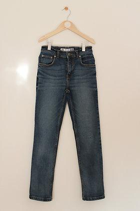 TU mid blue straight fit jeans (age 10)