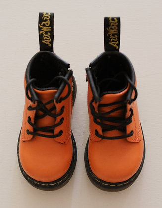 Dr Martens orange boots (size 6)