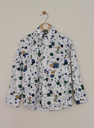 Steel & Jelly bubble print long sleeved shirt (age 7-8)