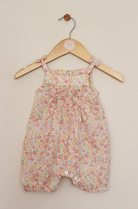 M&Co lightweight floral cotton romper (age 0-3 months)