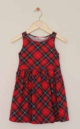 H&M tartan check sundress (age 2-4)