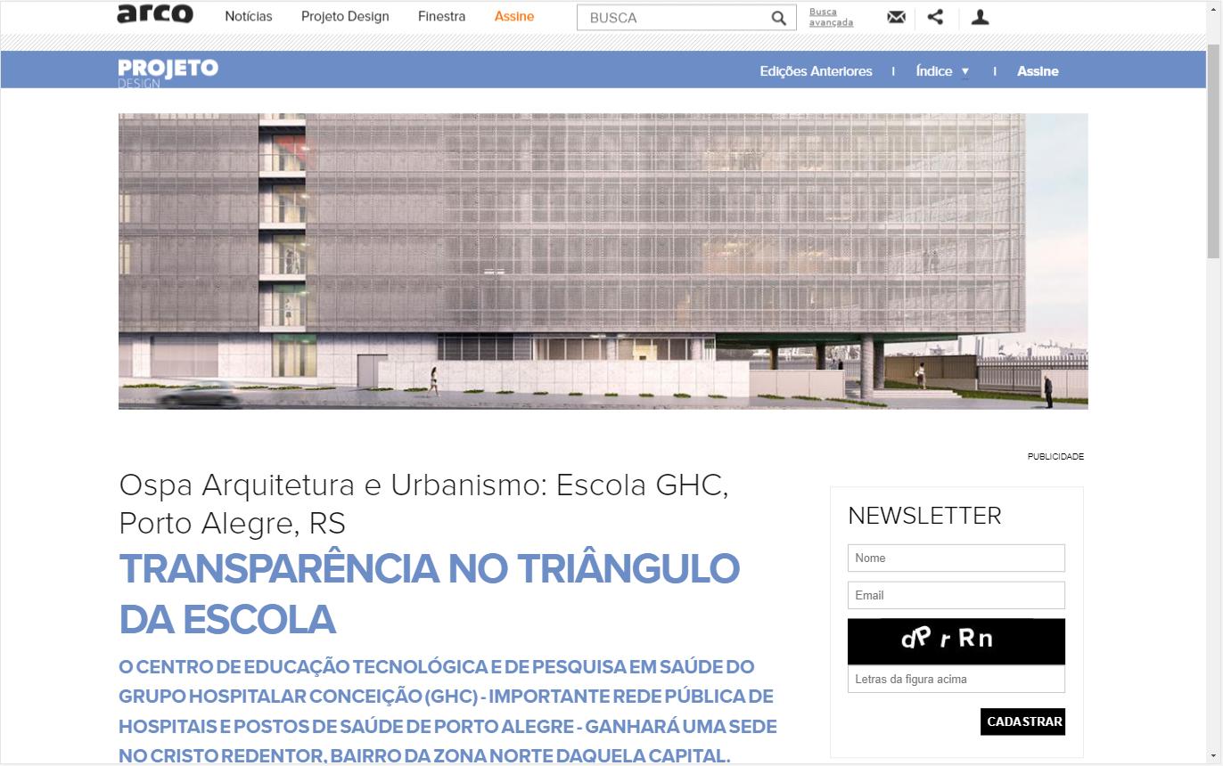 GHC   Projeto Design