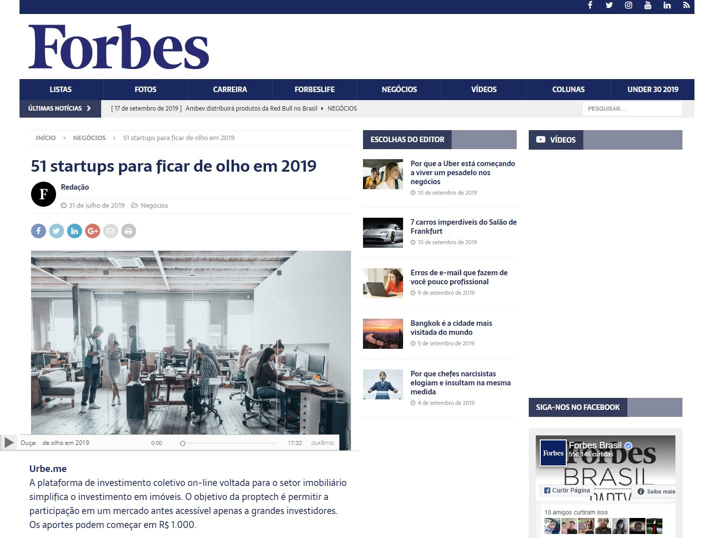 URBE.ME   Forbes