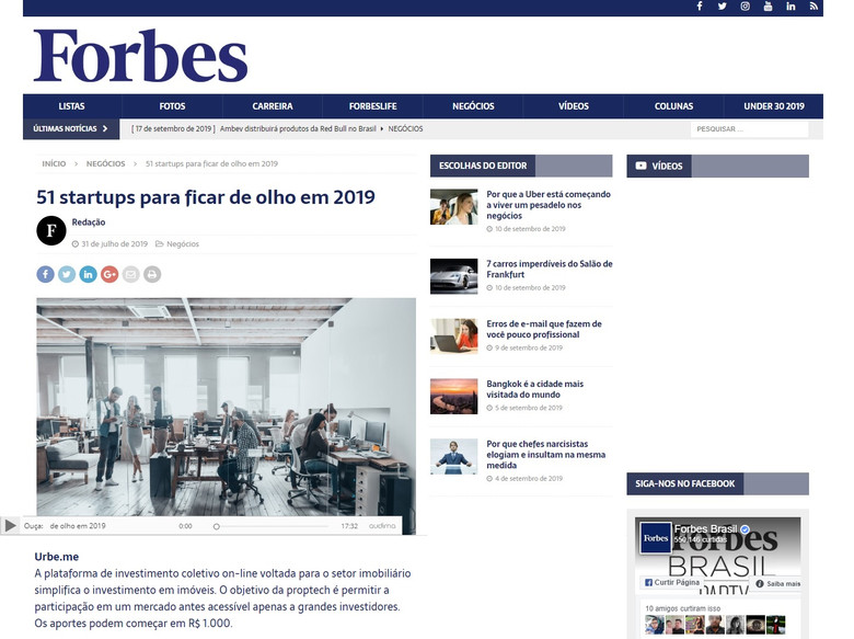 URBE.ME | Forbes