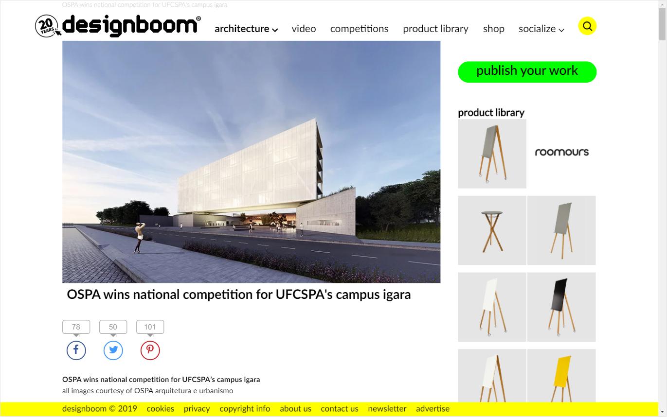 UFCSPA | Designboom