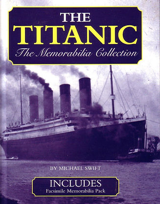 The Titanic front cover