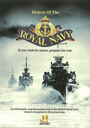 History of the Royal Navy front cover