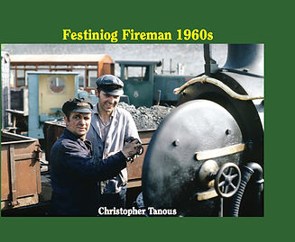 Festiniog Fireman front cover
