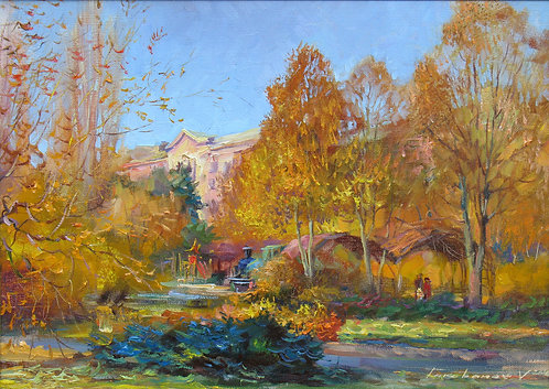 Autumn in the Gorodok Skazka