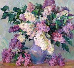 Lilacs in a Jug