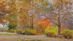 In an Automn Park
