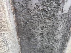Erodierte Fläche (Scheuerleisten)