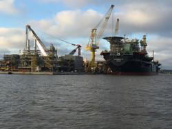Ölförderungsschiff Brasilien