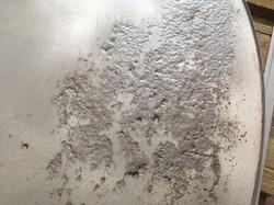 Erosion an Seekasten Enddeckel