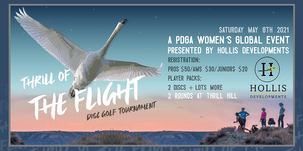 Thrill of the Flight, Women's Global Event presented by Hollis Developments