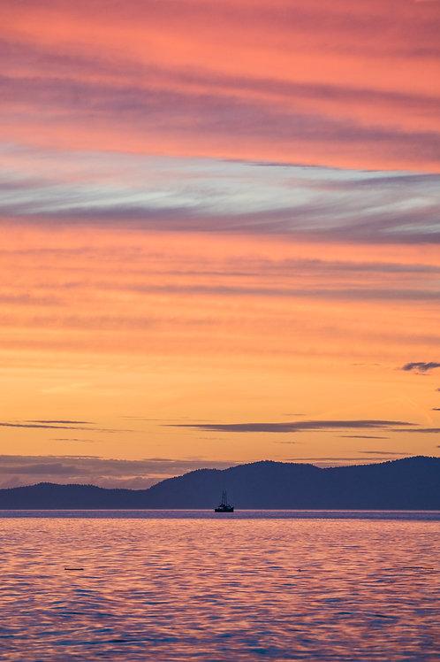 CANVAS PRINT : Ocean Sunset