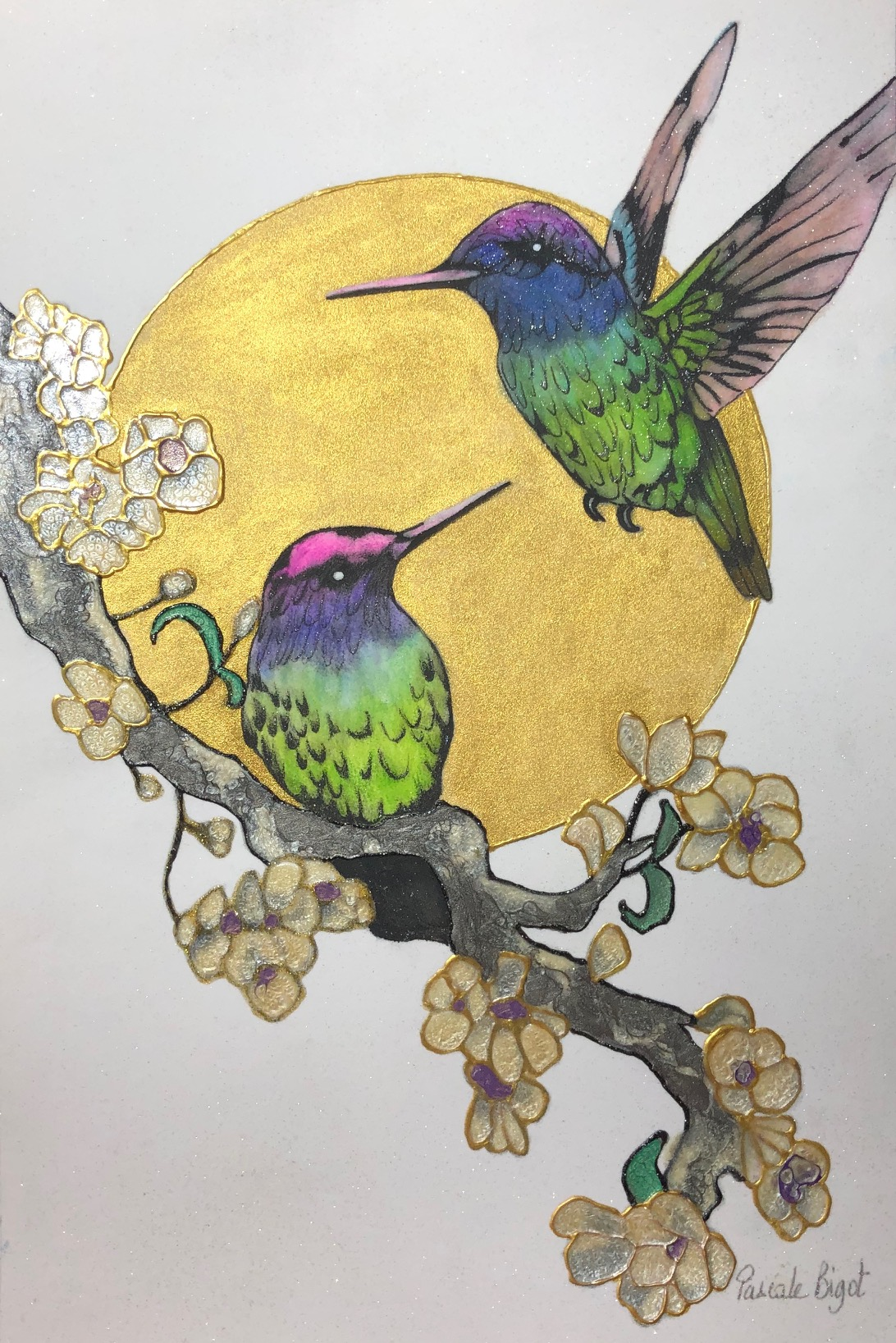 Hummingbirds (£125)