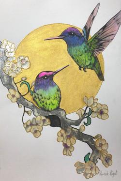 Hummingbirds (£125)