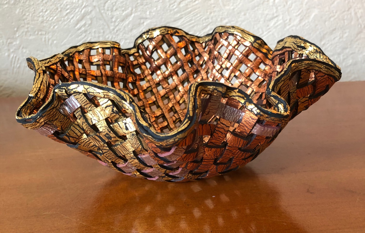 Lattice bowl (£45)