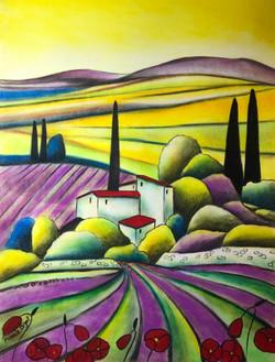 Hameau en Provence