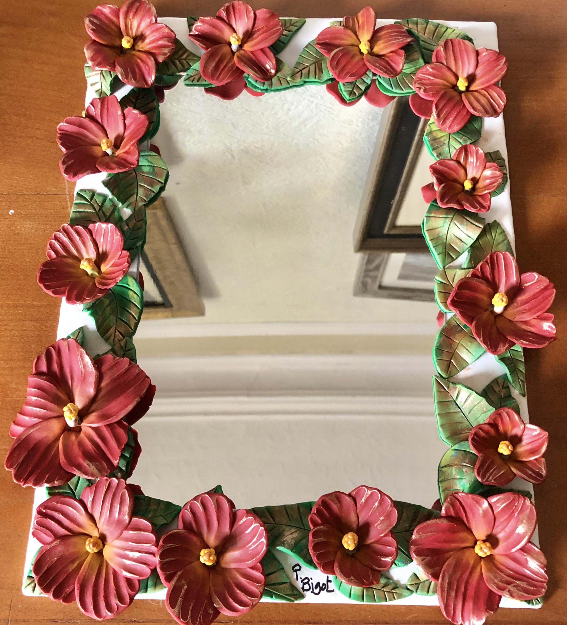 Hibiscus Mirror (£125)
